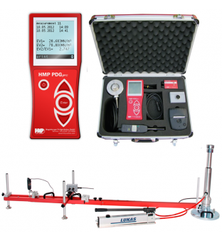 Instrument for the measuring static modulus of the soil HMP PDG