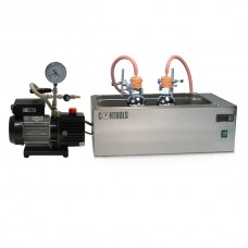 Binder recovery apparatus by vacuum