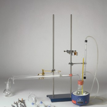 Binder recovery apparatus by Abson method recovery