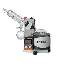 Rotary evaporator for binder recovery